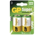 Battery GP Super D/LR20, 2pcs/pack