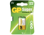 Battery GP Super 9V/6LF22, 1-pc