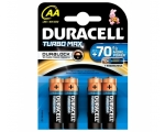 Battery DURACELL Turbo Max 4xAA MN1500