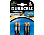 Battery DURACELL Turbo Max 4xAAA MN2400