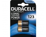 Battery DURACELL CR123A 2-pack