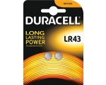 Battery DURACELL LR43 2-pack