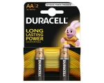 Battery DURACELL Basic AA MN1500 2-pack
