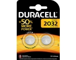 Battery DURACELL CR2032 2-pack