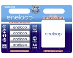 Power battery PANASONIC Eneloop AA/R6 battery 4-pack 1900mAh + box
