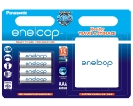 Power battery PANASONIC Eneloop AAA/R03 battery 4-pack 750mAh + box