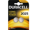 Batteries DURACELL CR2025, 2-pcs