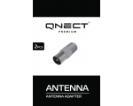 Antenna connector QNECT F-female - Antenna male