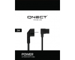 Power Cabel QNECT for computer C13 with angle 2m