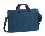"Laptop bag RIVACASE 15,6"" Biscayne sail fabric, blue"