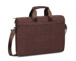 "Laptop bag RIVACASE 15,6"" Biscayne sail fabric, brown"
