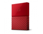 Жесткий диск WD My Passport 1TB USB 3.0 Red