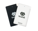 Duubelpakk PowerCard 2 x 2500mAh White & Black