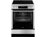 Electric stove AEG 69476VS-MN