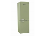 Retro refrigerator SCHNEIDER SCB 300 V2 SG, light green