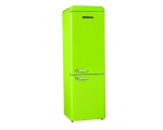 Retro refrigerator SCHNEIDER SCB 300 V2 LG, apple green