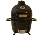 "KAMADO PREMIUM ceramic table grill 15 ""(matt black)"