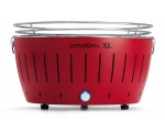 LotusGrill charcoal grill XL - fiery red