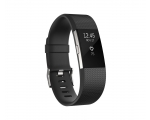 Activity monitor FITBIT Charge 2 Black Silver - Large