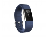 Activity monitor FITBIT Charge 2 Blue Silver - Small