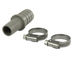Hose extension + 2 clips HQ W9-EPH-19-22BN (16 - 27 mm) 19 x 22 mm