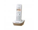 Phone PANASONIC KXTG1611FXJ wireless, DECT, white/beež