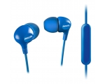 In-ear headphones with microphone Philips SHE3555BL/00, navy