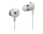 In-ear headphones with microphone Philips SHE4305WT/00, white