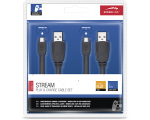 Cables SPEEDLINK STREAM Play & Charge - PS4, black