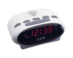 Clock radio LENCO ICR210-white