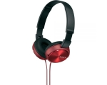 On-ears headphones Sony MDR-ZX310R.AE-red