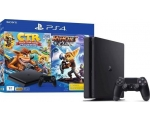 Konsool SONY PS4 1TB + Crash Team Racing / Ratchet&Clank