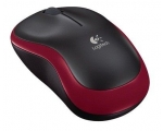 Mouse LOGITECH M185 red