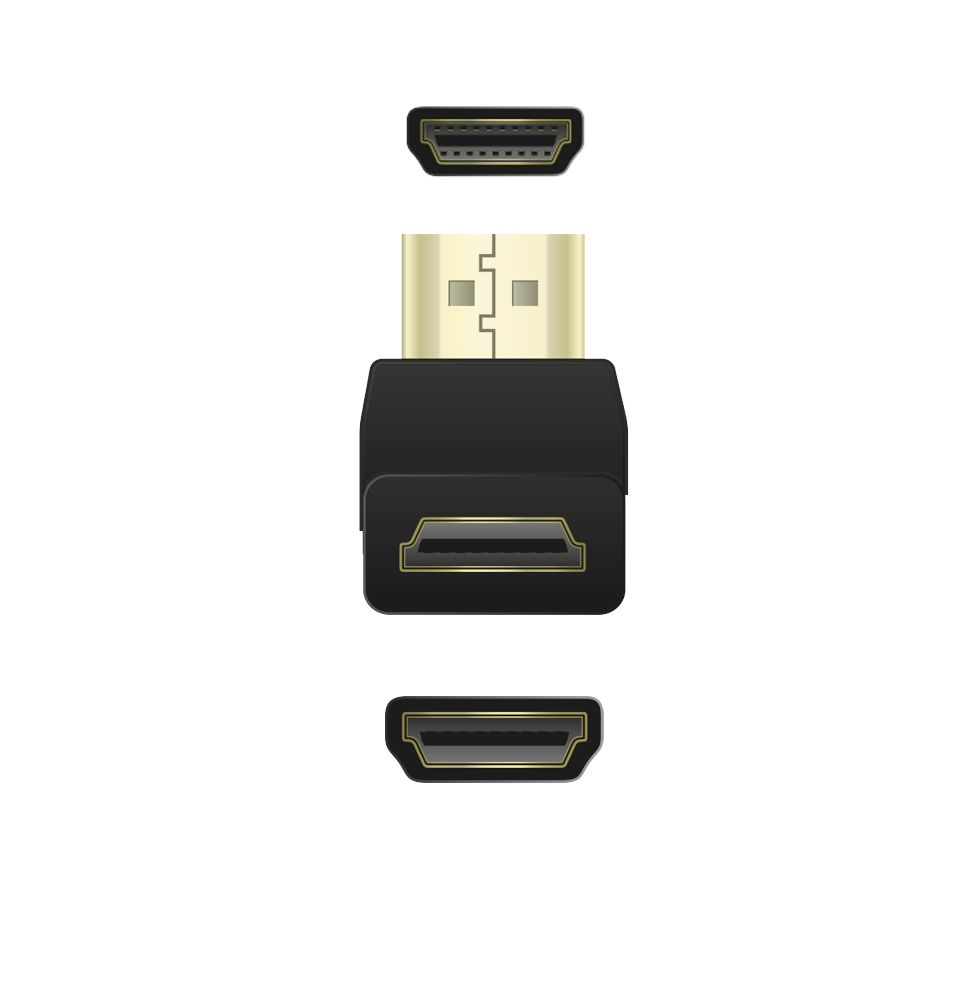 Adapter QNECT 103865 HDMI nurgik